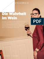 Die Wahrheit Im Wein Aus Zeit Wissen - 2018-02