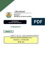 Afrikaans FAL P2 Exemplar 2009.doc