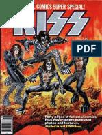 Kiss Marvel Comic Book
