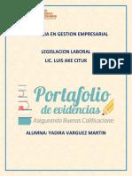 Portafolio Laboral Yadira Varguez