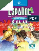 Guía Español Huellas 4