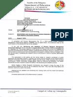 Division Memorandum No. 153,s.2018