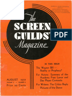 The Screen Guilds' Magazine V2 NO6 August 1935