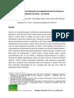 mapeamento e caracterização dos remanescentes de Dunas no muncipio de Natal RN