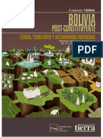 [Memoria] FT-Bolivia Postconstituyente I (2009)