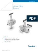 Double Block_bleed Valves