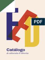 Catálogo Feria de Editores 2018