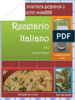 Recetario Italiano