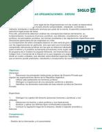 Marco Legal de Las Org. Programa
