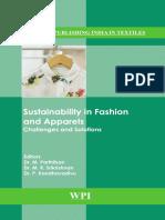 [Woodhead Publishing India in Textiles] Kandhavadivu, P._ Parthiban, M._ Srikrishnan, M. R. - Sustainability in Fashion and Apparels (2018, WPI Publishing)