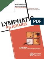 GLOBAL PROGRAMME TO ELIMINATE LYMPHATIC FILARIASIS