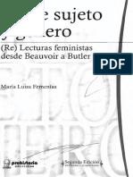 Femenias-Sobre Sujeto y Género 2017