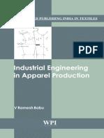 [Woodhead Publishing India in Textilies] v. Ramesh Babu - Industrial Engineering in Apparel Production (2012, Woodhead Publishing)