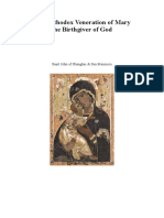 The Orthodox Veneration of Mary the Birthgiver of God -- by Saint John of Shanghai & San Francisco