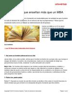 7 Libros Cortos q Enseñan Más Que Un MBA