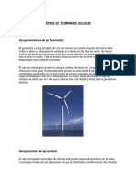 Tipos de Turbinas Eolicas