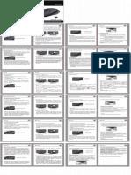 Manual de Usuario Del Mouse CA57BN