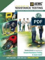 Ground resistance testing