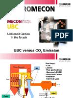 Unburned Carbon Versus CO2 Emission