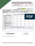 P-DRSS-01-F-14 Formato de Evaluacion Cuantitativa Del Prestador de Servicio Social