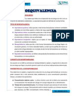 Bioequibalencia de La Ampicilina Grupo 2