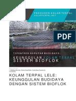 keuanggulan bioflok
