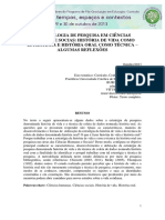 METODOLOGIA DE PESQUISA EM CIÊNCIAS HUMANAS E SOCIAS HISTÓRIA DE VIDA COMO ESTRATÉGIA E HISTÓRIA ORAL COMO TÉCNICA  ALGUMAS REFLEXÕES.pdf