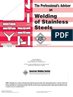 Welding of Stainless Steel