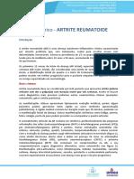 Reumatologia Resumo Artrite Reumatoide Telesaude Rs