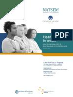CHA-NATSEM Report Health Lies in Wealth(2)