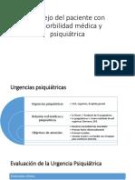 Manejo Del Paciente Con Comorbilidad Médica y Psiquiátrica