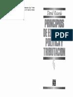 Lectura 5- Ricardo, David- Principios de Economía Política y Tributación