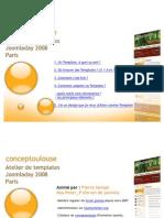 Atelier Template Debutant Joomla 1.0