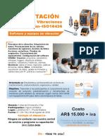 Curso de Vibraciones Segun Norma ISO-18436 06-06-2018