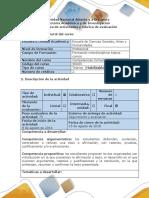 Guía de Actividades y Rúbrica de Evaluación Taller 6. Evaluación de Texto Escrito