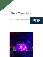 Mont Tremblant-2018 The Blues Festival