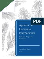 Apuntes de Comercio Internacional
