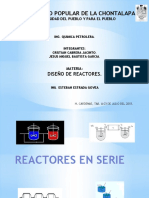 Reactores en Serie