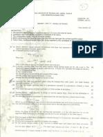 BITS MCA Neural Networks Q Paper