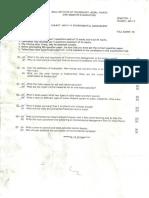 BITS MCA Q Paper Environmental Management
