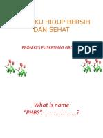 PERILAKU HIDUP BERSIH DAN SEHAT.pptx -SBH PROMKES 2018.pptx