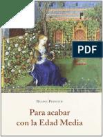 Pernoud Régine - Para acabar con la Edad Media.pdf