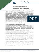 2018 - Informativo - 04.1 - Termo de Responsabilidade