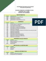 Planificacion Clases Examenes Segundo Periodo