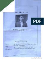 Ronny Lalbiakzauva Chanchin