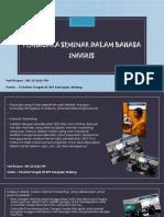 Pembicara Seminar Entrepeneur, Contact Center