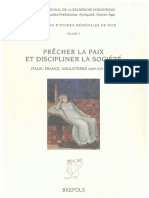 Pr Cher La Paix Et Discipliner La Soci t Italie France Angleterre XIIIe XVe Si Cles