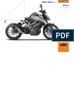 Manual KTM Duke 390 2017 ENG