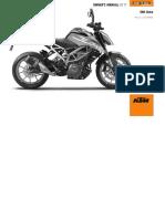 Manual KTM Duke 390 2017 ENG