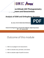Analysis of DSM and Orthophoto (Module 9)